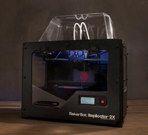 Makerbot Replicator 2X 発売