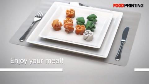 食べ物を作る 3Dプリンター