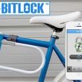 スマートフォンの自転車ロック