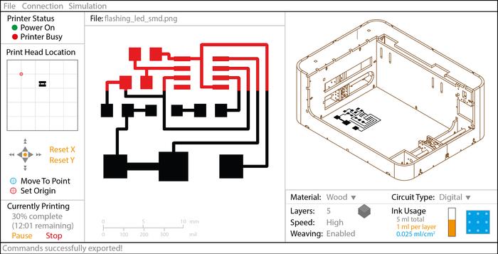 電子回路をプリント出来る 3Dプリンター