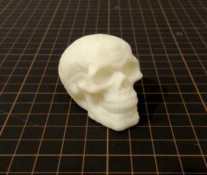 アトムによる骸骨の3Dプリントモデル