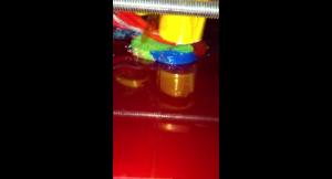 MH3000造形中の映像
