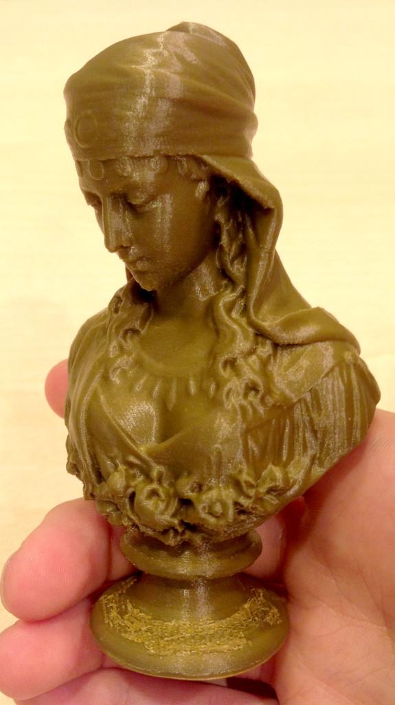 女神像を3Dプリント