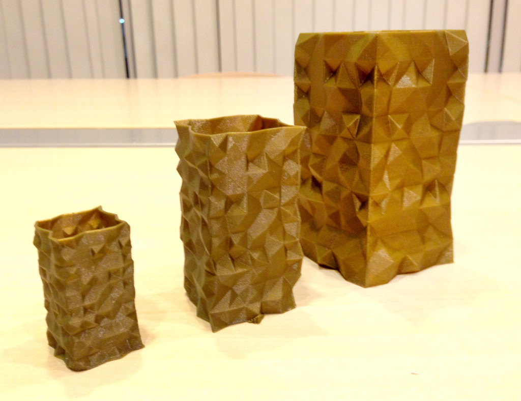 3Dプリンターの造形物