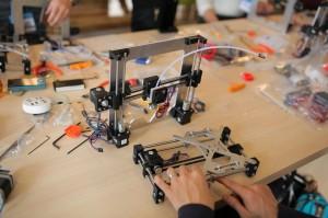3Dプリンター 組立ワークショップ