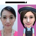 自分の顔が3Dアバターになる