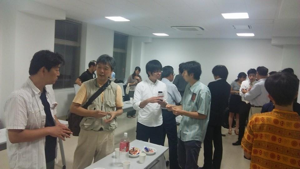 大阪メイカーズセミナーでの懇親会