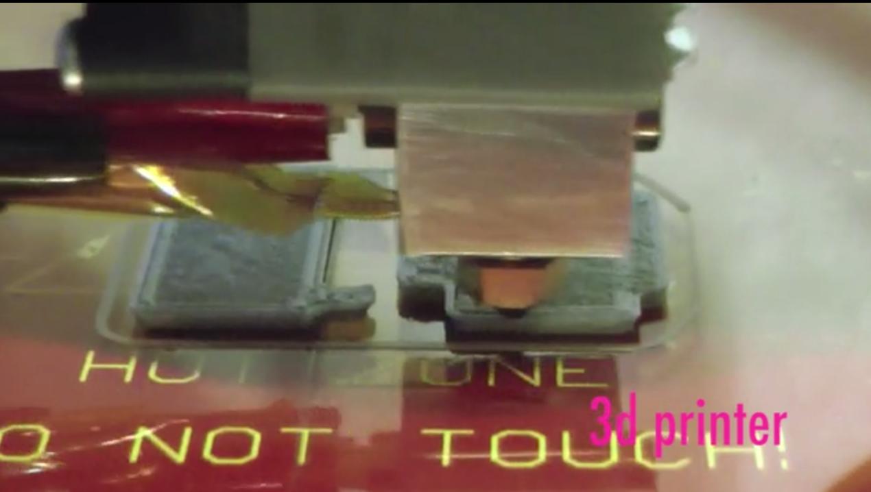 5軸で積層ができる3Dプリンター