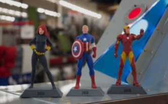 アメリカンキャプテンやアイアンマン