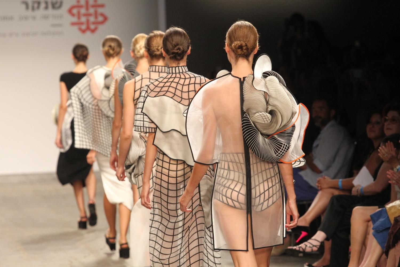 3Dプリンターのファッションショー