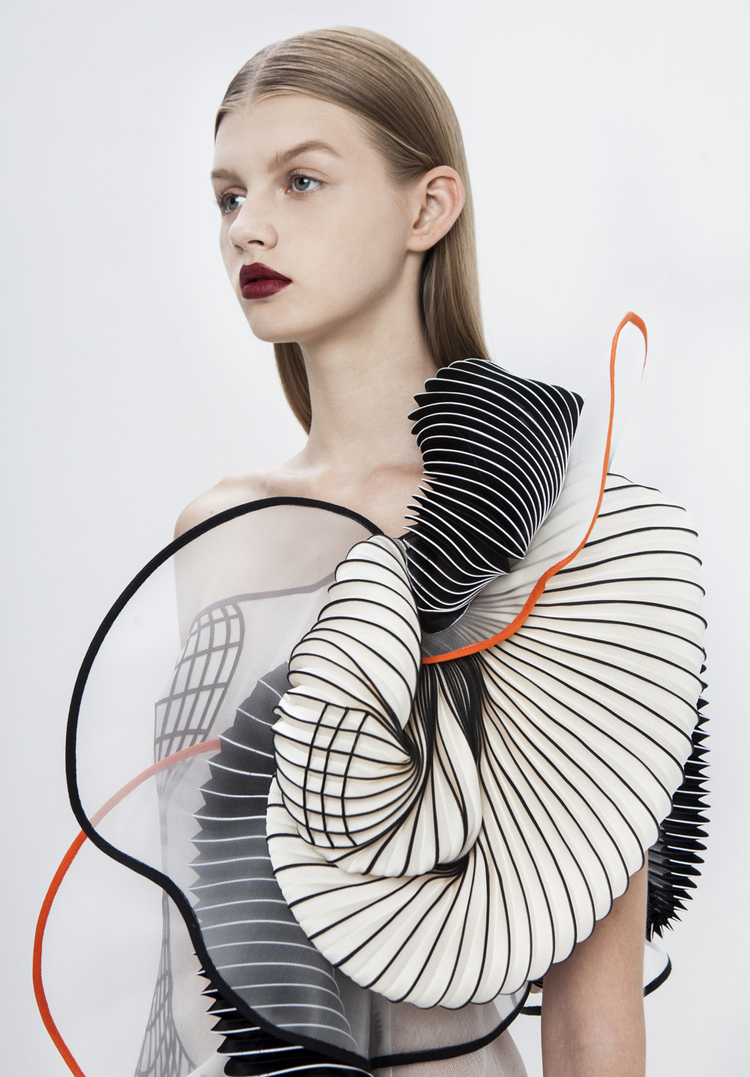 3Dプリンターで出力した洋服4
