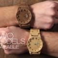木材3Dプリンターで作られた時計