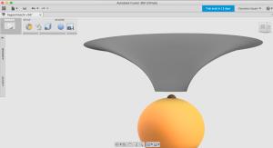 Fusion360で曲面を作る2