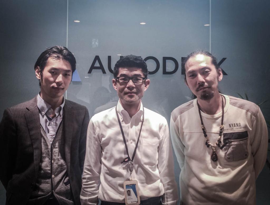 左から、スリプリ別所さん、AutoDesk塩澤さん