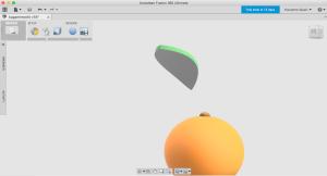 Fusion360で曲面を作る3