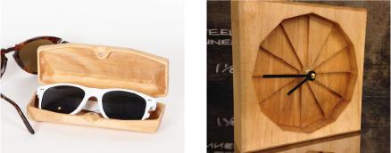 CNCの木材加工例