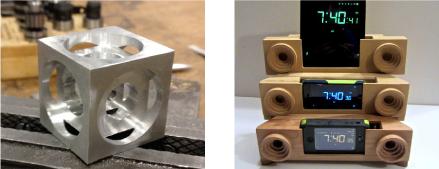 CNCの加工例 金属