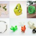 3Dプリンターでの応募作品