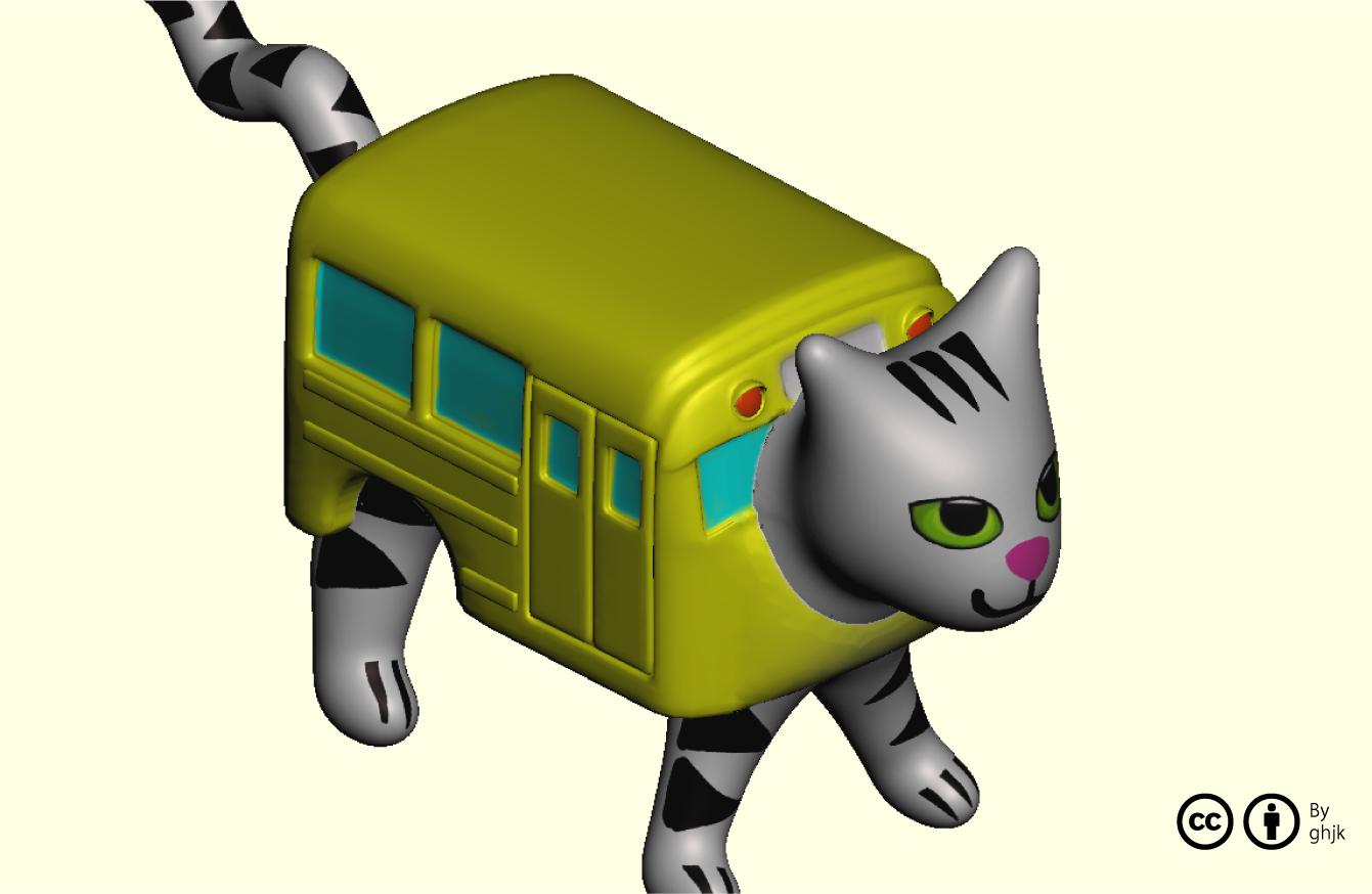 ニャンコなバス