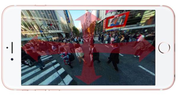 360°写真のポストカード