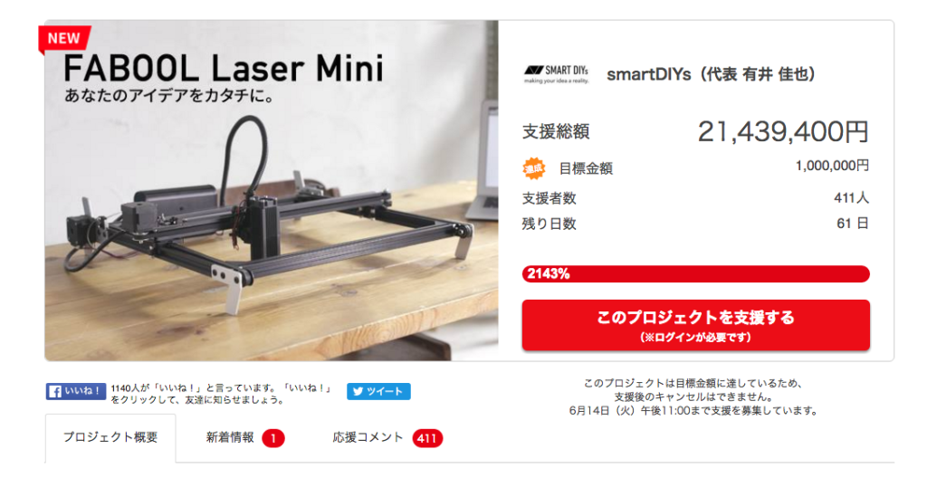 FABOOL Laser Mini