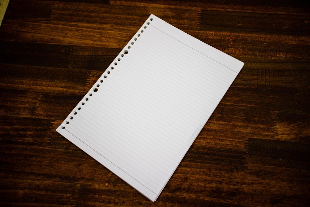 B5のノート