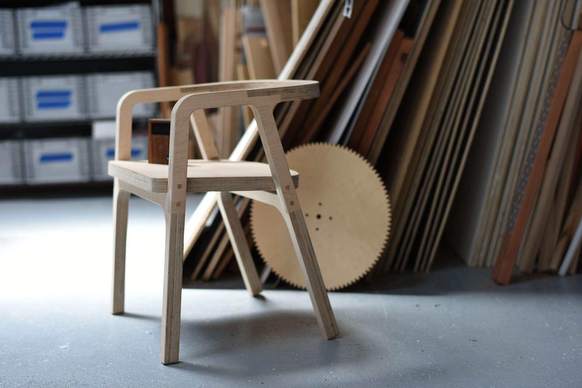 SHAPER ORIGINで作った椅子