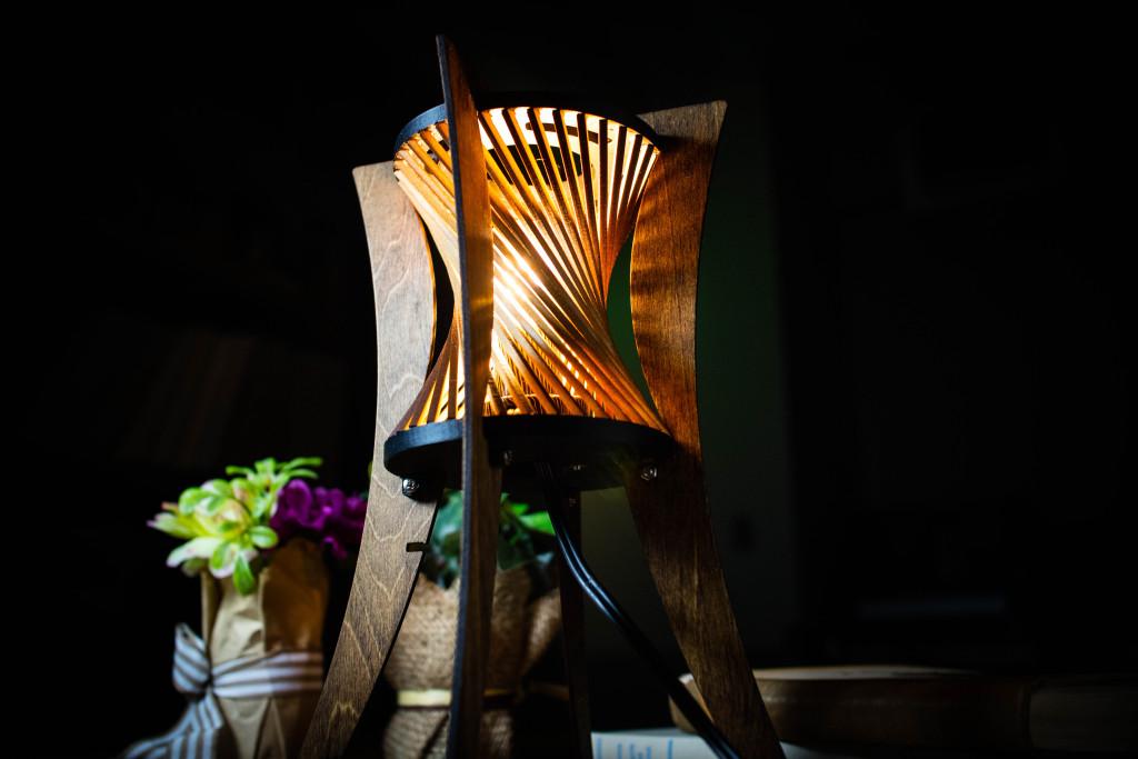 レーザーカッターのランプ