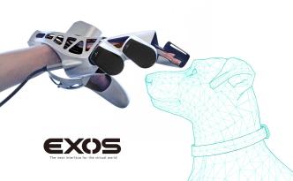 VR用外骨格型デバイスEXOS(エクソス)