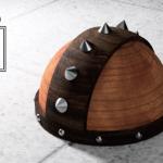 3DCAD武器屋が木の帽子を作った