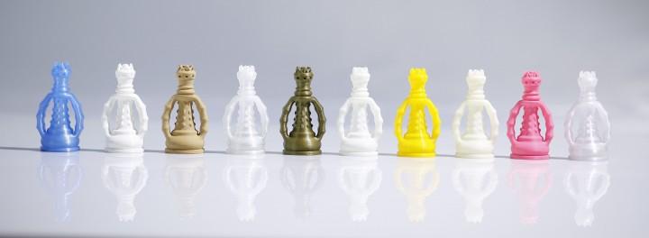 Raise 3Dで使える、様々な種類のフィラメント