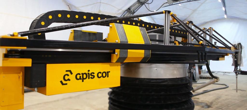 Apis Corの建築3Dプリンター