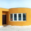 Apis Corの建築3Dプリンターで建てられた家