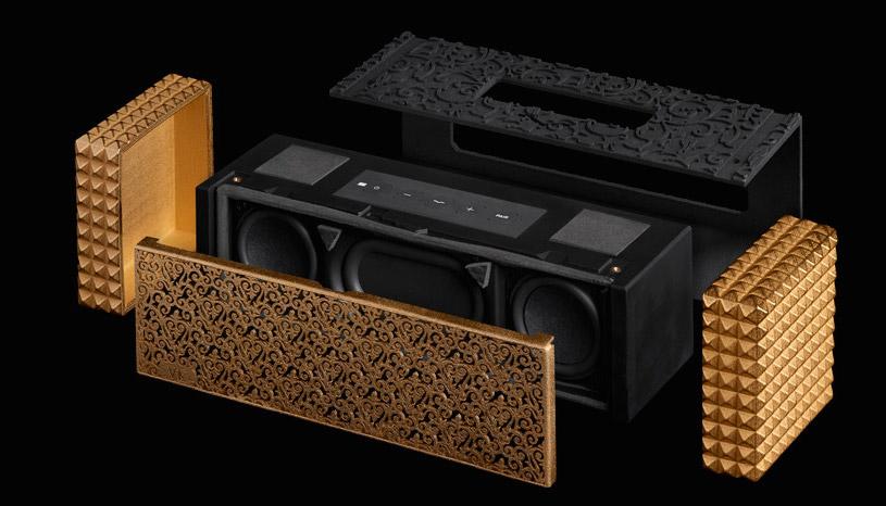 リミックススピーカー 3Dプリンターでのカスタム例