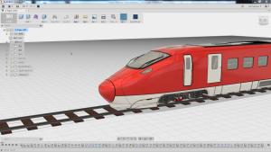 Fusion360でモデリングされた車両