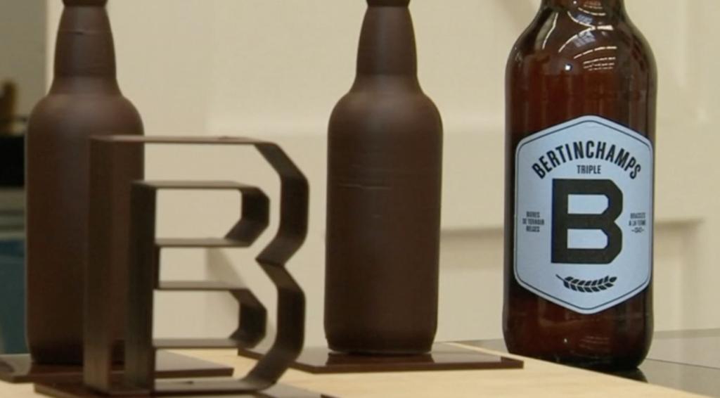 出典:ロイター チョコでできたビール瓶