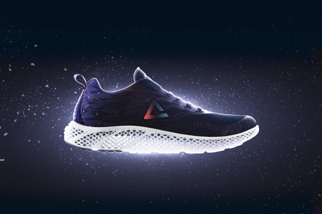 Peakの3Dプリンター靴