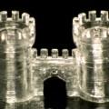 光造形された3Dガラス