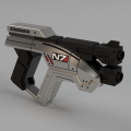 Fusion360で作られた3DGUN