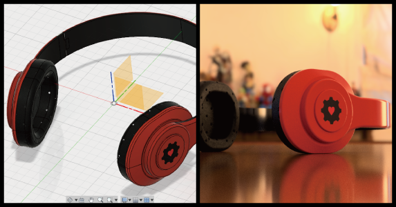 Fusion360で360度写真を設定