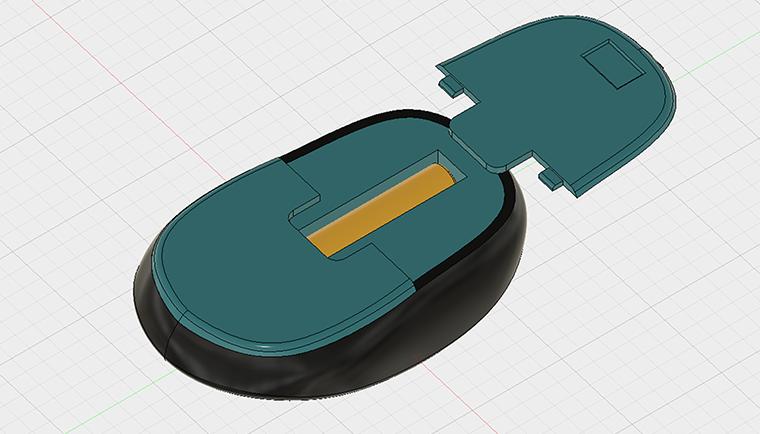 3Dプリントして開閉できる蓋を作る
