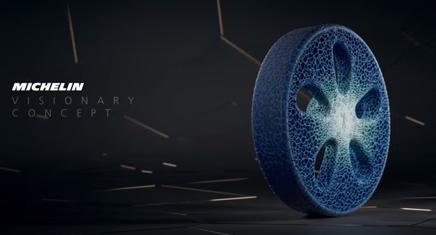 ミシュランの3Dプリントタイヤ