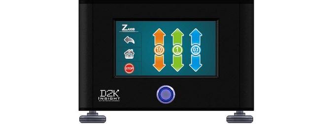 「D2K Insight」の液晶パネル