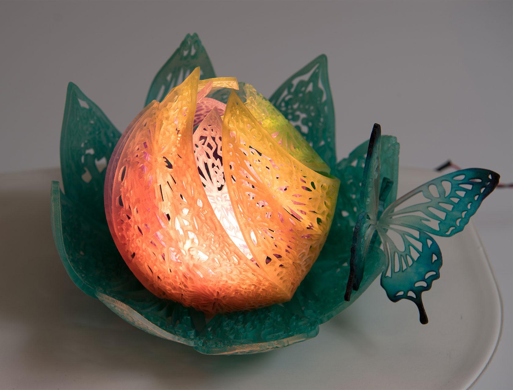 ミマキ3Dプリンターの造形サンプル