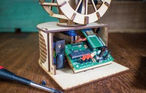 小型家電の扇風機を制御する