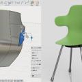 Fusion360のスカルプトで作った椅子