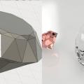 Fusion360で作ったダイヤモンド
