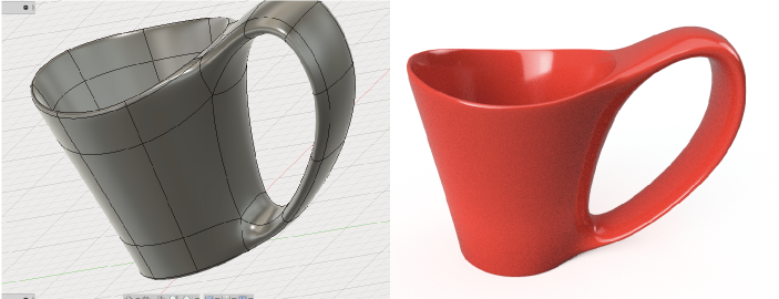 スカルプトで作るコーヒーカップ