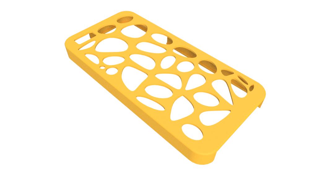 ボロノイ模様のiPhoneケース