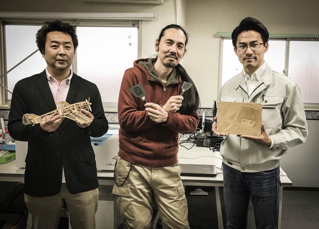 右:代表取締役 繆(みょう)様 左:営業企画部 西村様